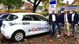 E-mobil ans Ziel: Michael Schwekendiek testet Car-Sharing-Angebot