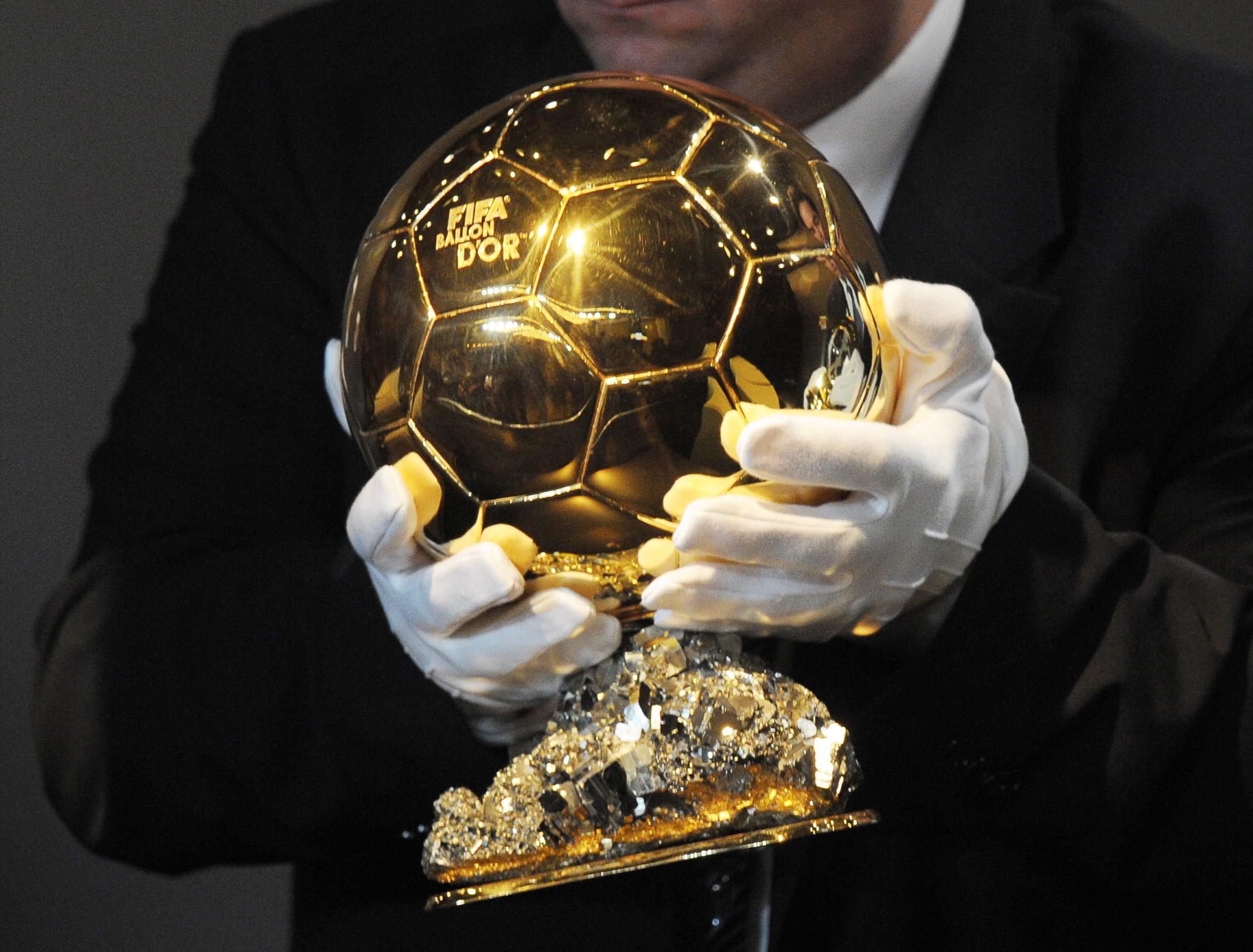 Im Dezember wird der Ballon d'Or vergeben.
