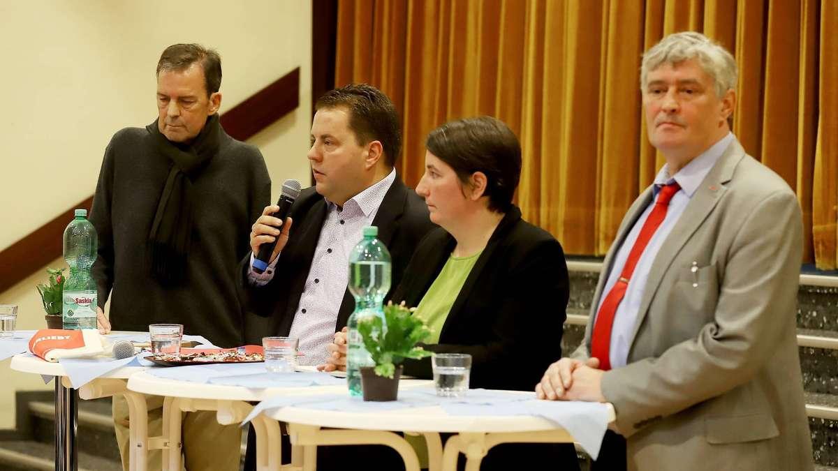 Bürgermeisterwahl Weyhe: Schüler der KGS-Leeste bekommen Antworten der vier Kandidaten | Weyhe - kreiszeitung.de