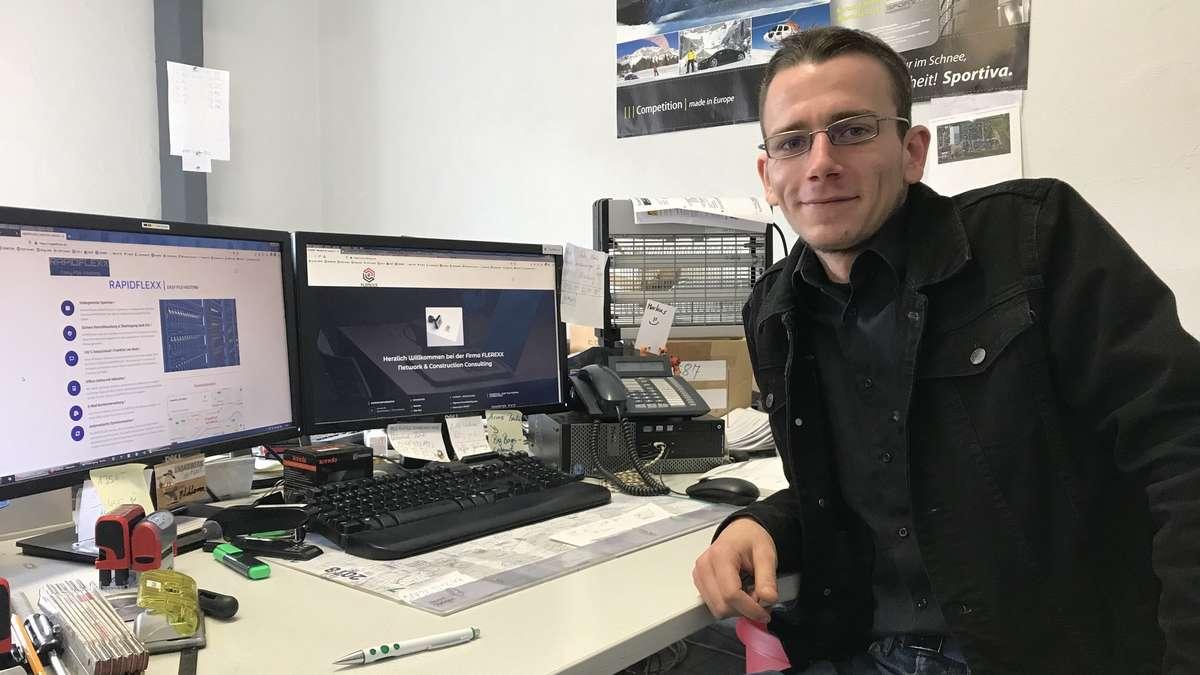 Maxime Datenschutz: Nick Flechtner erfindet Cloud-System nach deutschem Recht | Sulingen - kreiszeitung.de