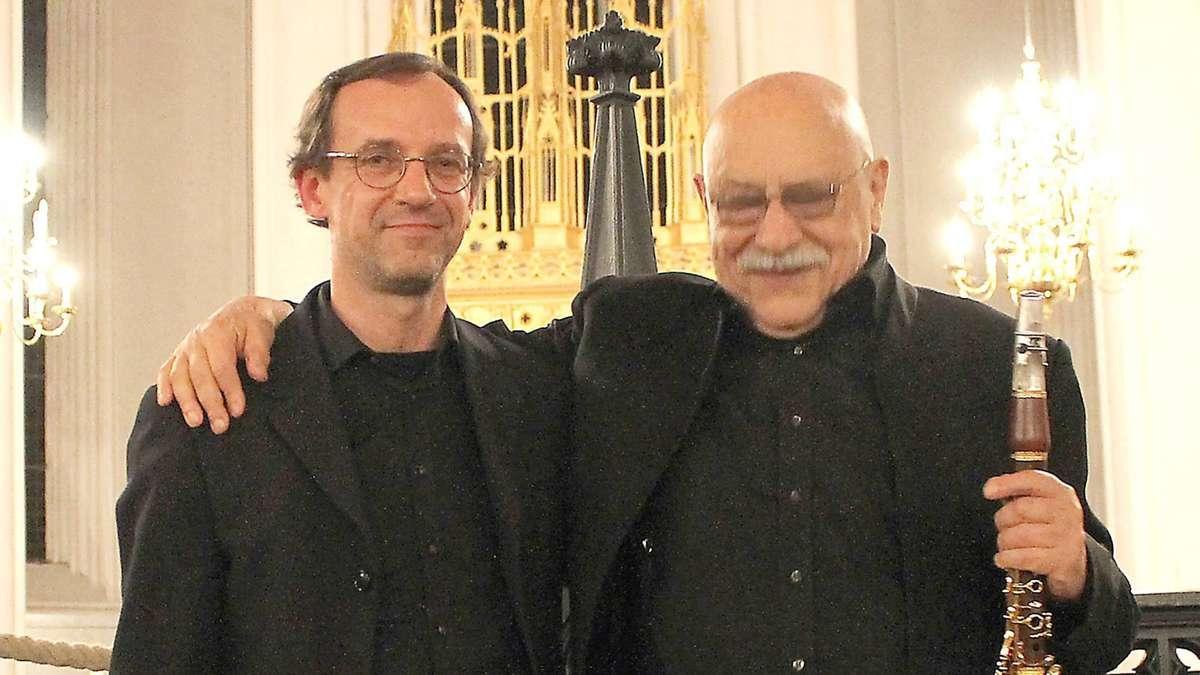 Verden: Giora Feidman und Sergej Tcherepanov begeistern mit Klezmer und Klassik | Verden - kreiszeitung.de