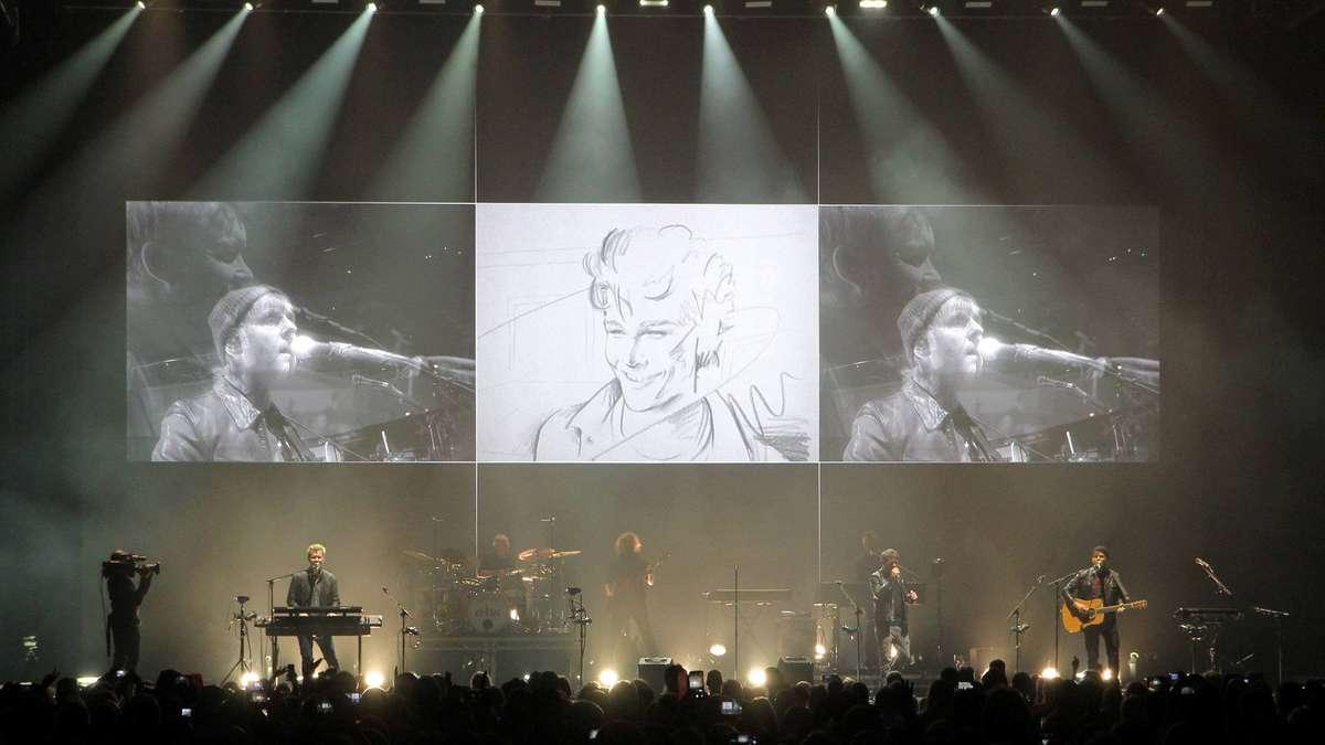 """""""A-ha"""" in Bremen vor 10.000 Zuschauern in der Stadthalle - ÖVB-Arena   Bremen - kreiszeitung.de"""