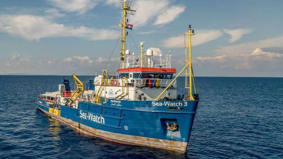 Libysche Küstenwache und Seenotrettung: Sören Moje von Sea-Watch in Diepholz | Diepholz - kreiszeitung.de