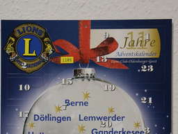 Adventskalender Lions-Club Oldenburger Geest