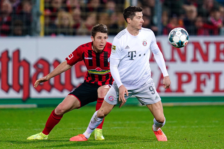 Gegen Freiburg schaffte BayernsRobert Lewandowski einen historischen Meilenstein.