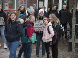 Fridays-for-Future-Demo in Scheeßel
