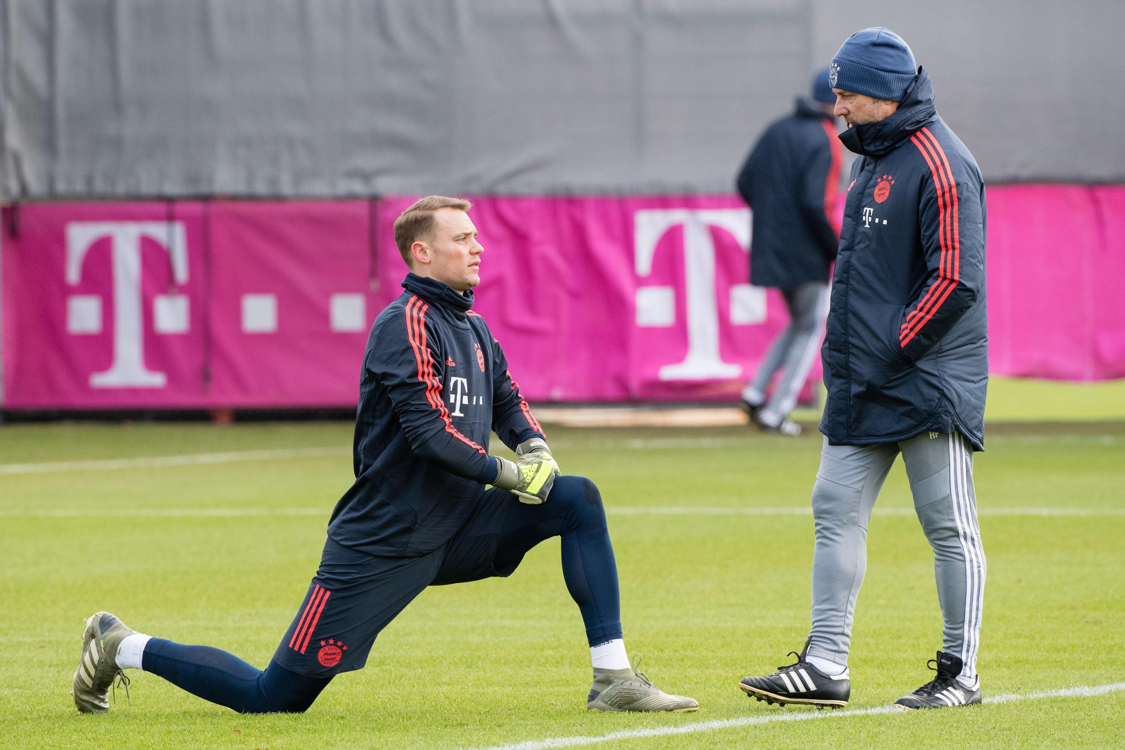 Gemeinsam für den FC Bayern: Kapitän Manuel Neuer (li.) und Trainer Hansi Flick.