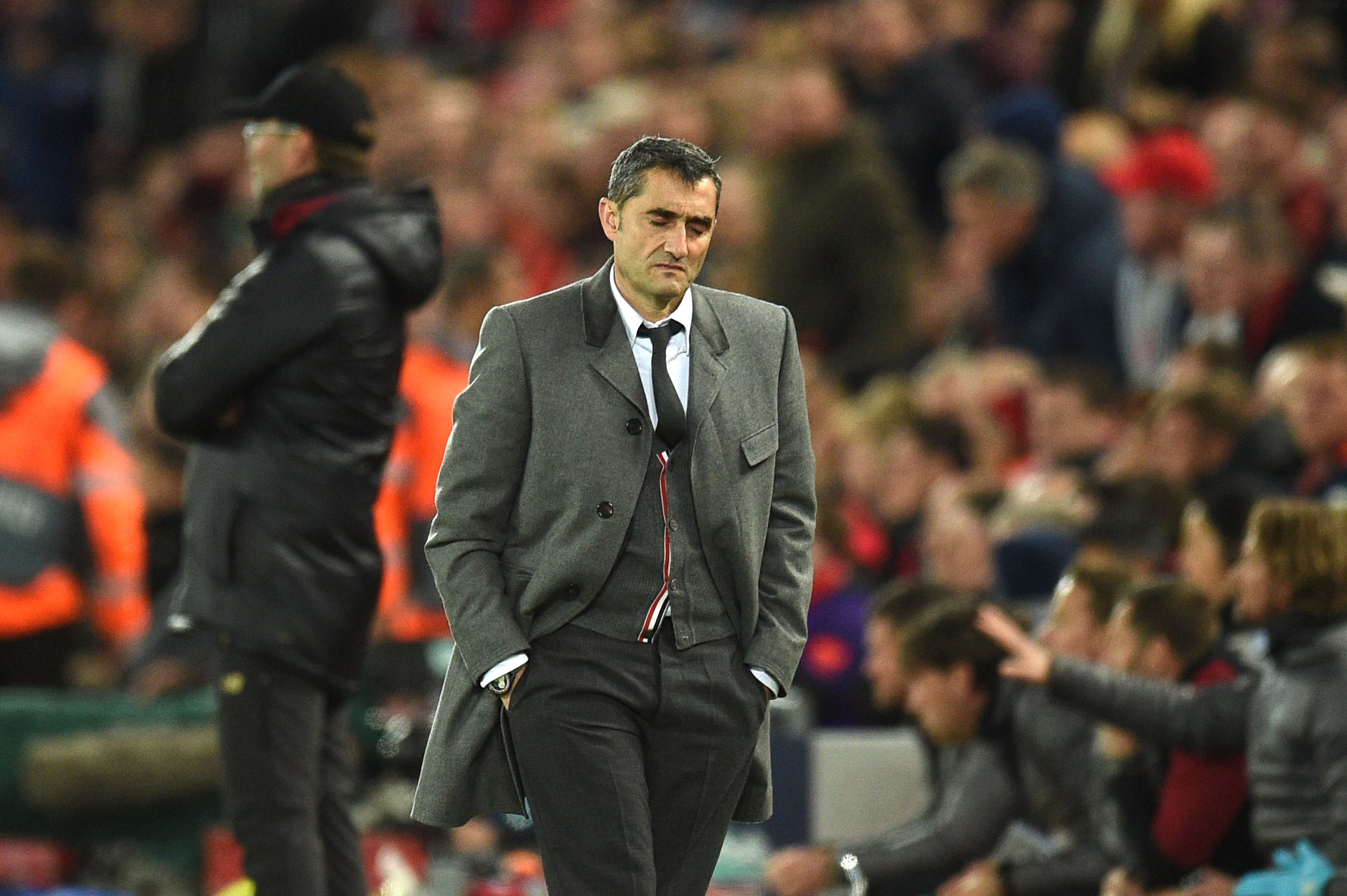 Barca feuert Coach Ernesto Valverde