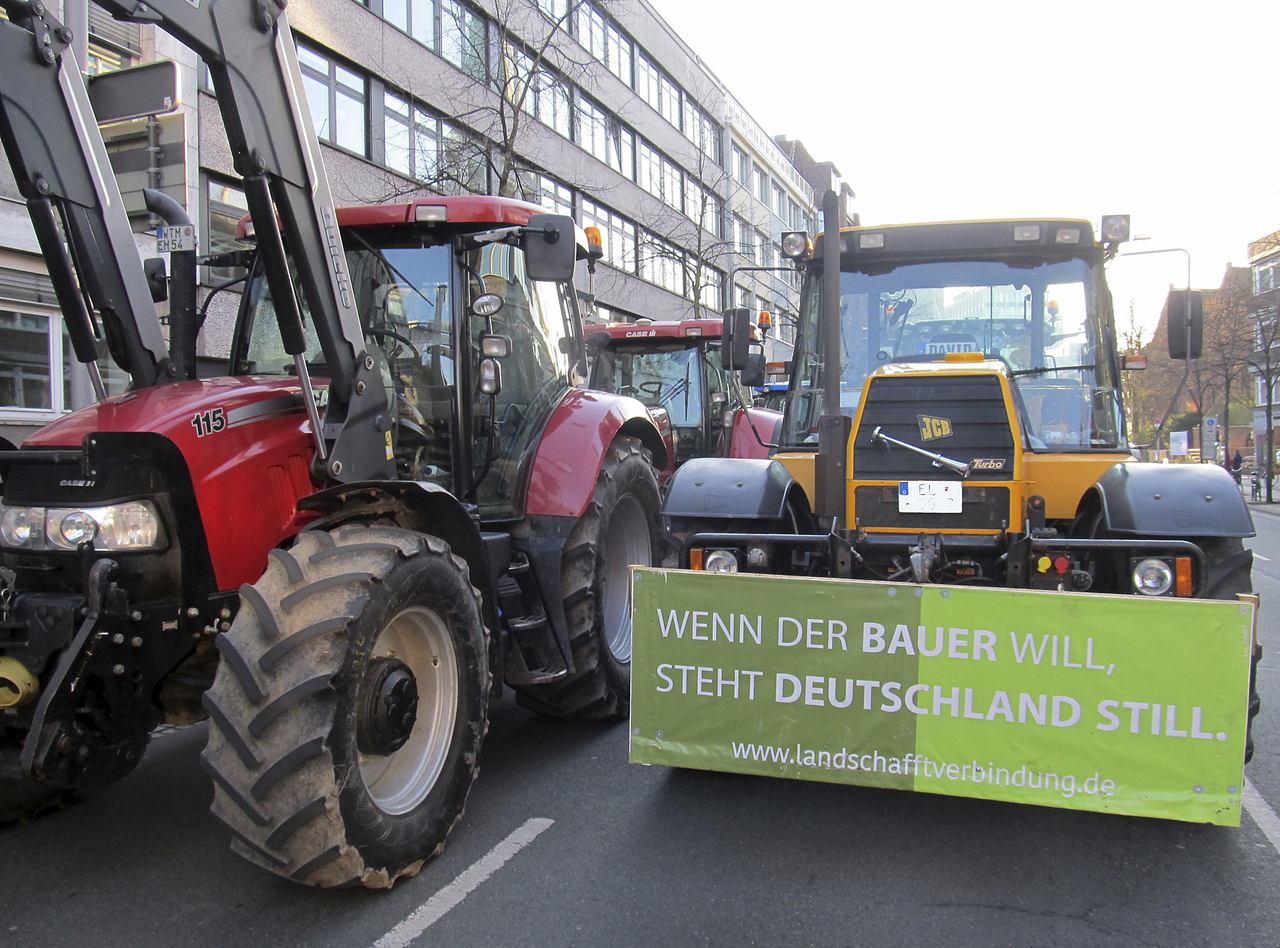 Trecker Demo Bremen