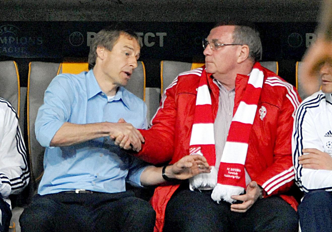 War kein Dreamteam: Jürgen Klinsmann und Uli Hoeneß.