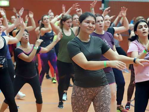 Zumba-Party 2021 in größerer Halle?
