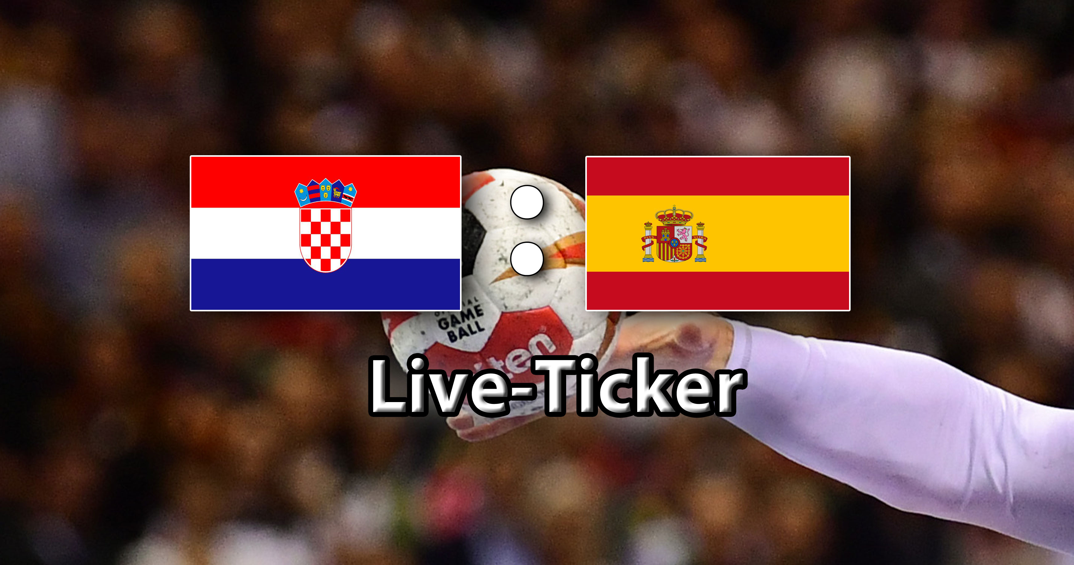 Kroatien Spanien Em