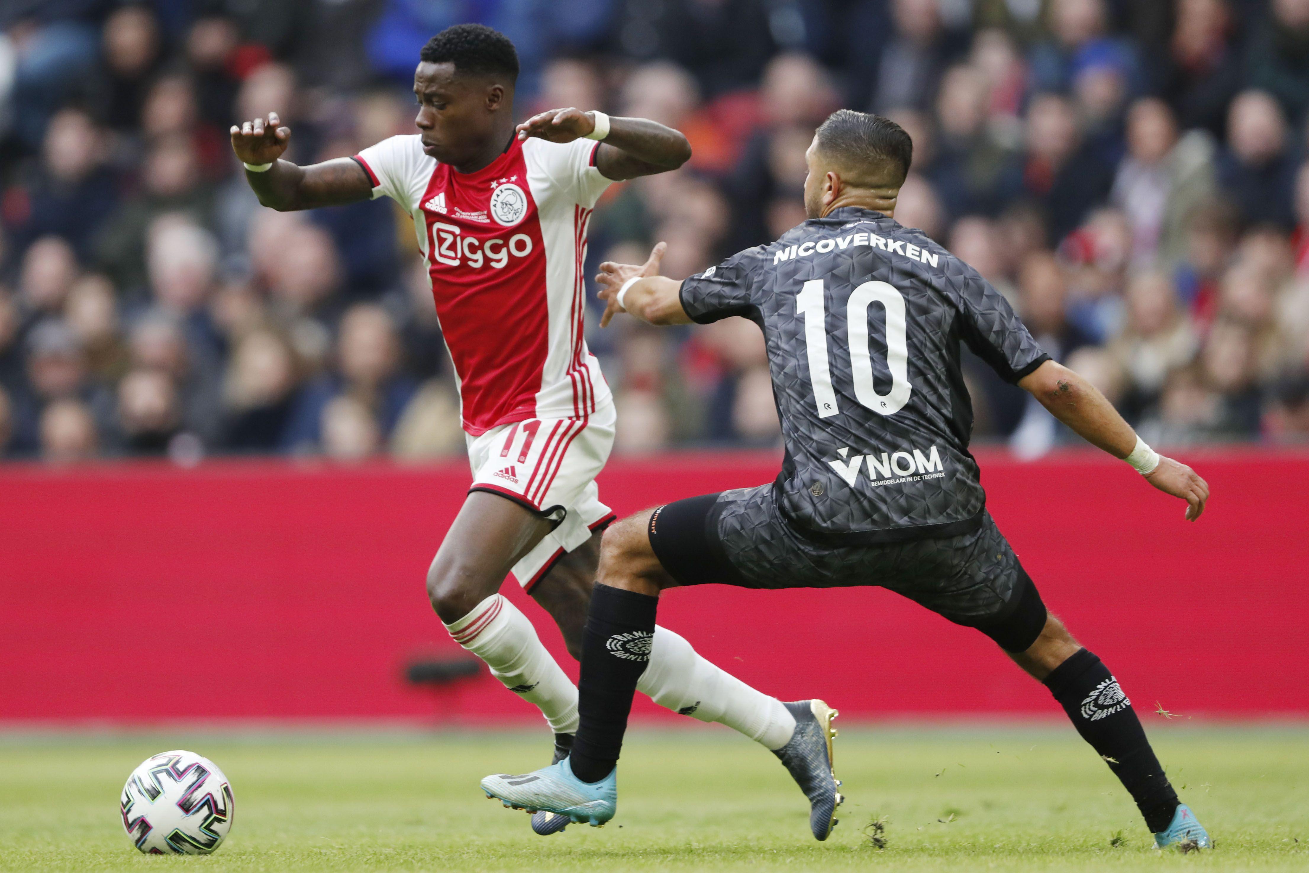 Quincy Promes und Ajax Amsterdam könnte bald gegen andere Mannschaften spielen als Sparta Rotterdam.
