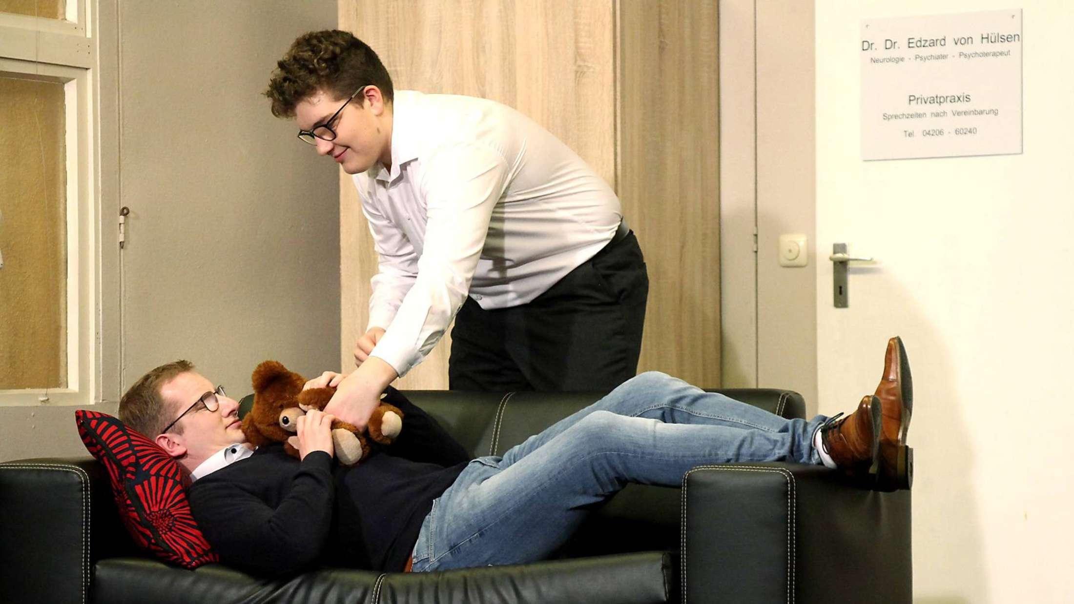 Die Akteure der Landjugend überzeugen bei ihrem neuen Stück. Foto: Husmann