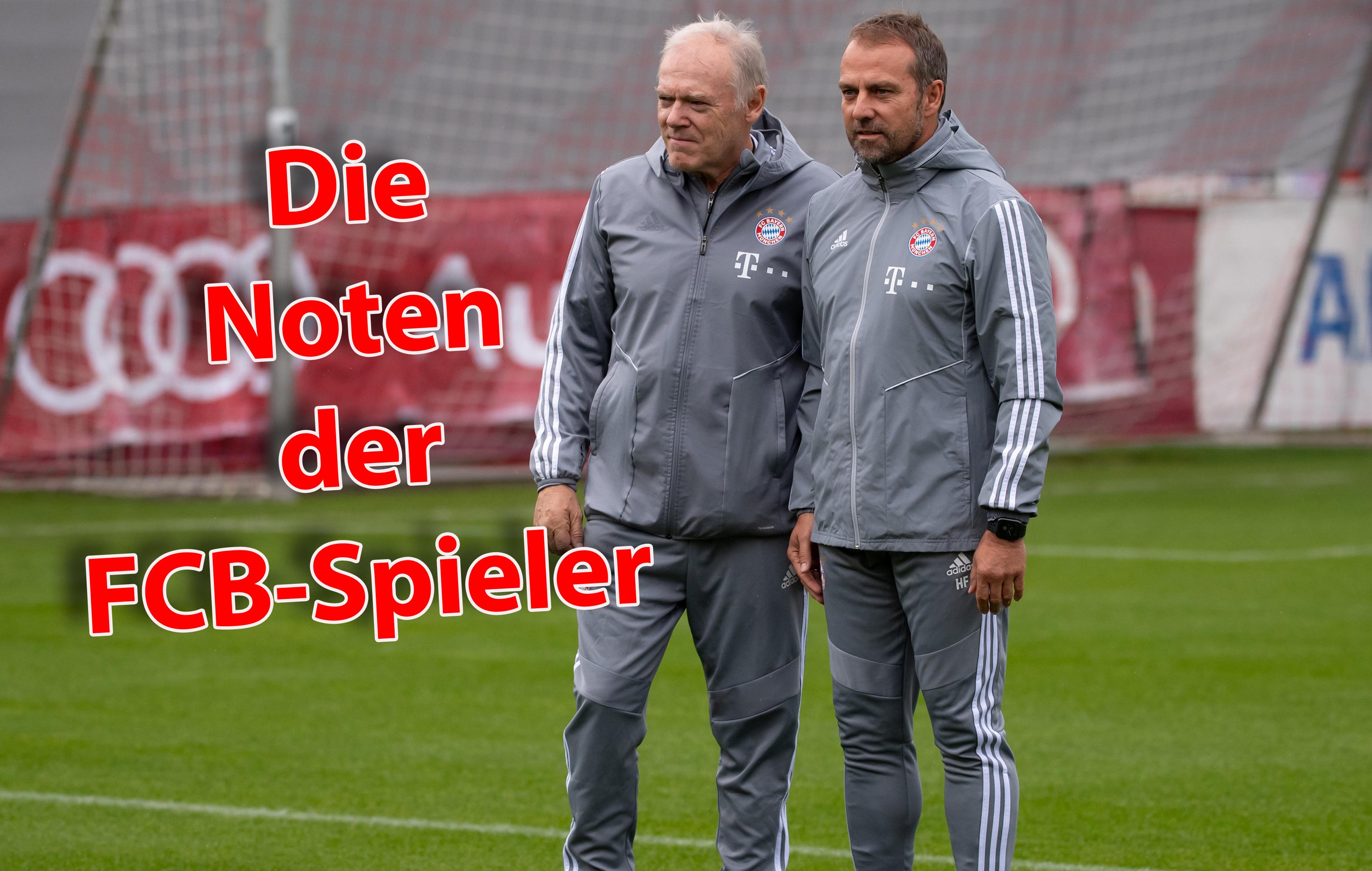 Trainerduo des FC Bayern: Hermann Gerland (li.) und Hansi Flick.