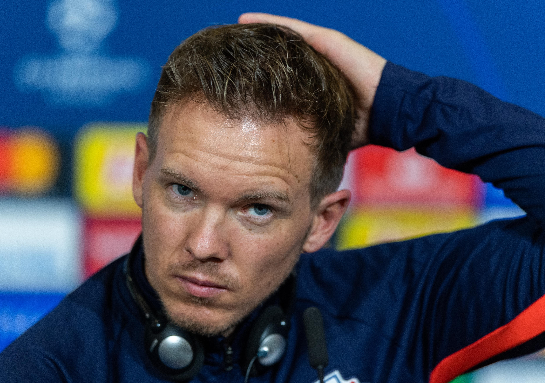 Die Pressekonferenz von RB Leipzig wurde nicht nur für Julian Nagelsmann zur Tortur.
