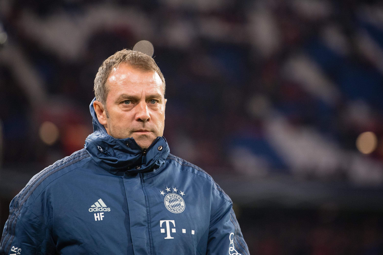 War nicht durchgehend angetan von der Darbietung seiner Mannschaft: Bayern-Trainer Hansi Flick musste gegen 1899 Hoffenheim bis zum Abpfiff zittern.