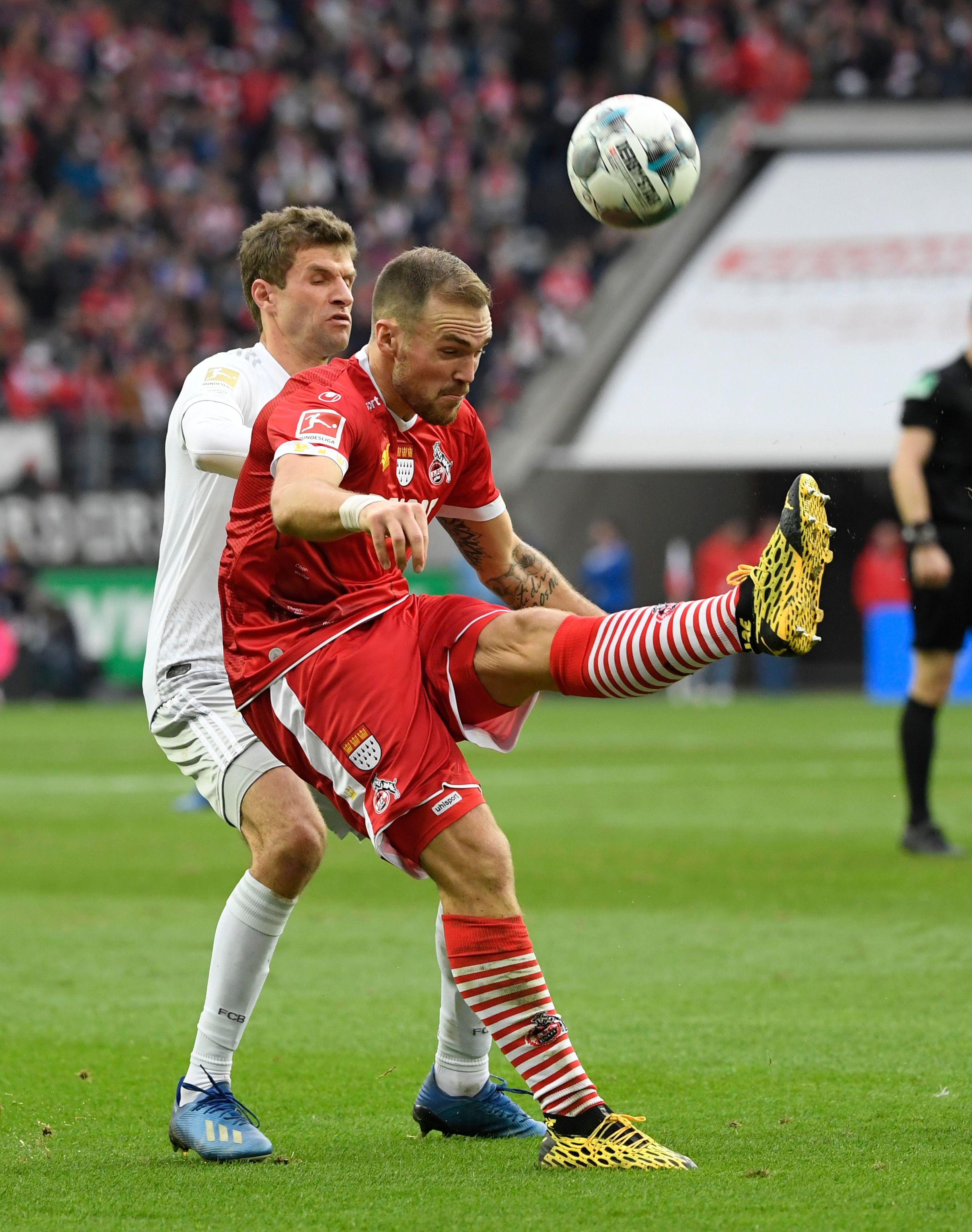 FCB gewinnt in Köln: Thomas Müller und Co. erwartete dennoch ein ganzes Stückchen Arbeit.