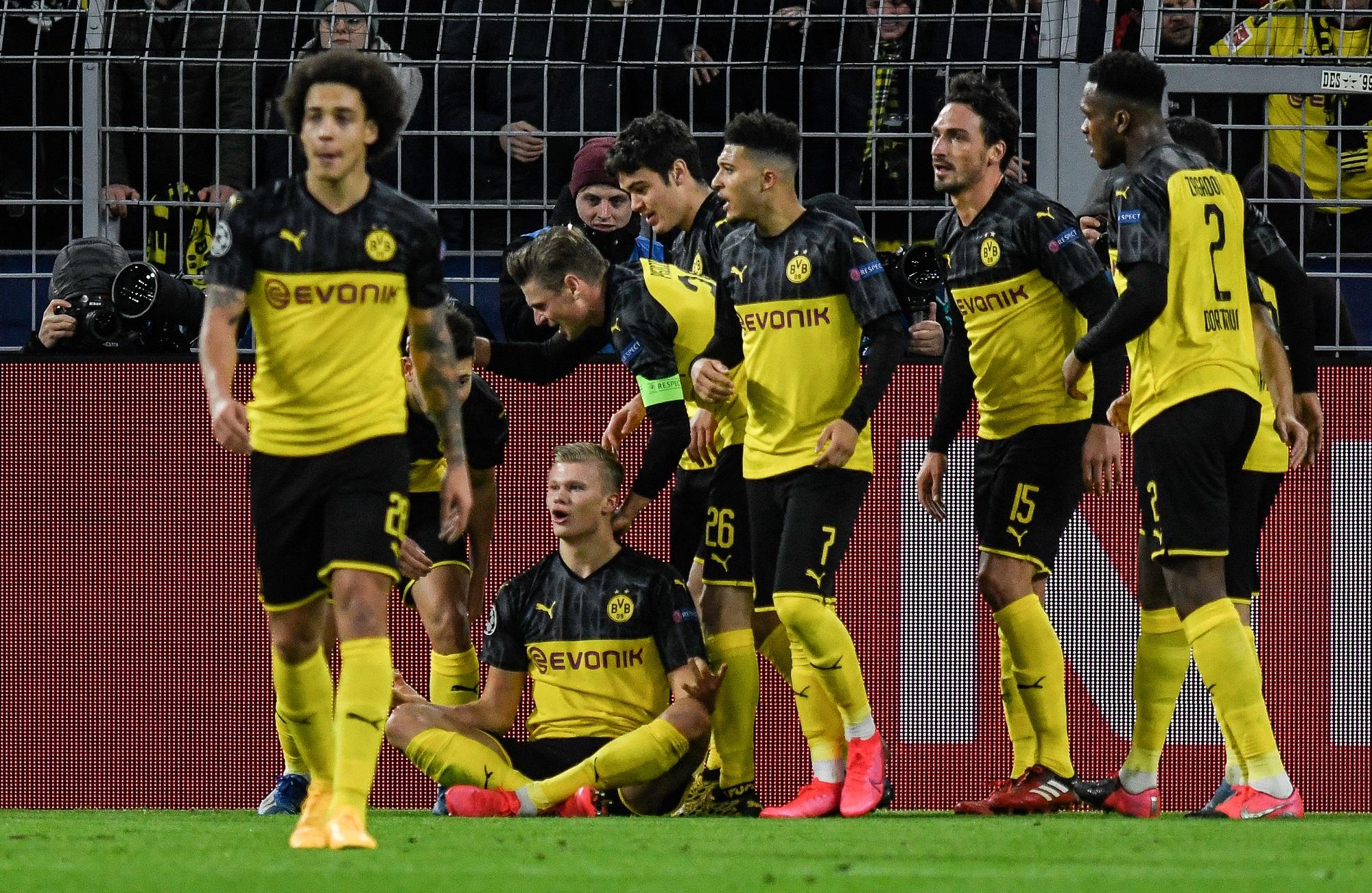 Der BVB durfte sich in der Champions League über ein 2:1 gegen Paris Saint-Germain freuen.
