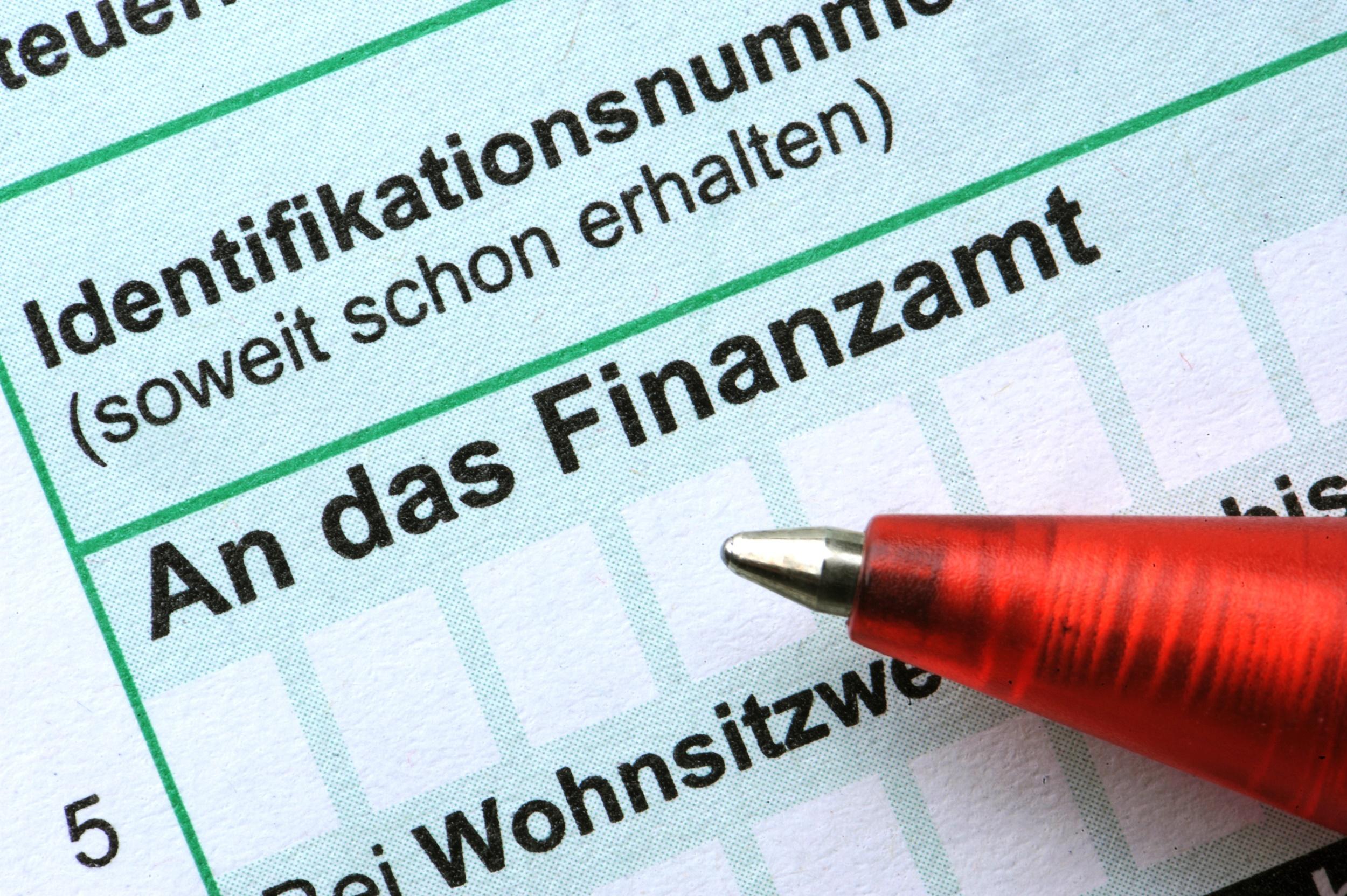 Falsche Angaben in der Steuererklärung können leicht korrigiert werden.