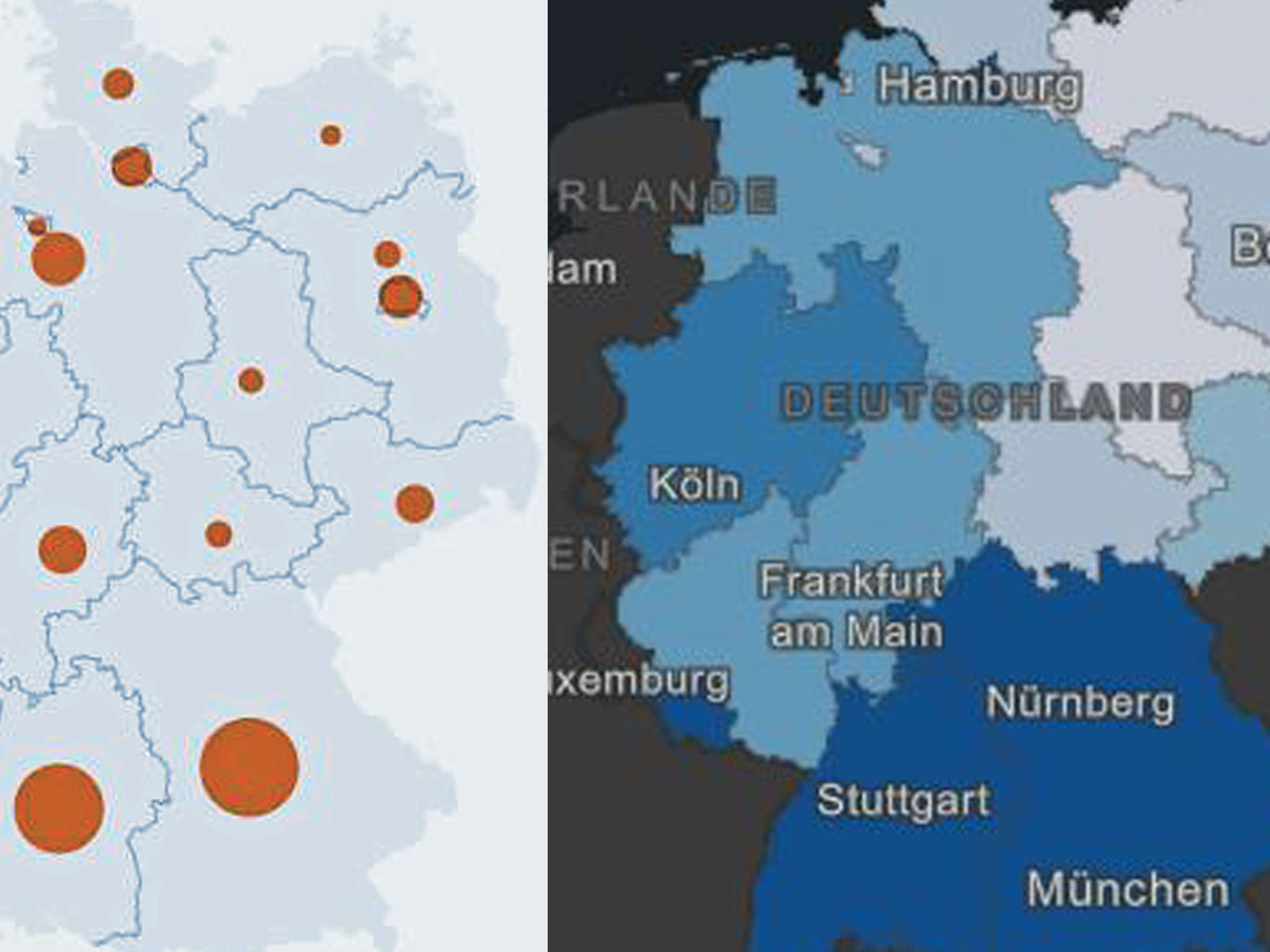 coronavirus echtzeit deutschland