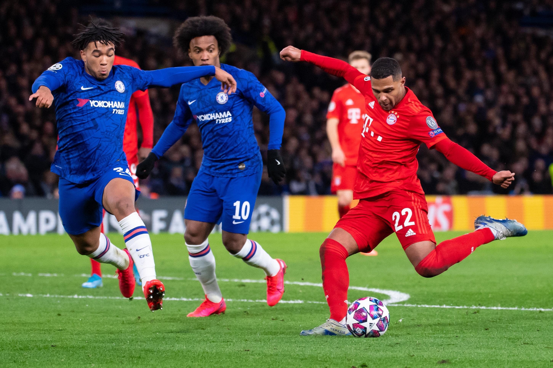 Brasilianer beim FC Chelsea: Willian (Mi.), hier gegen den FC Bayern.