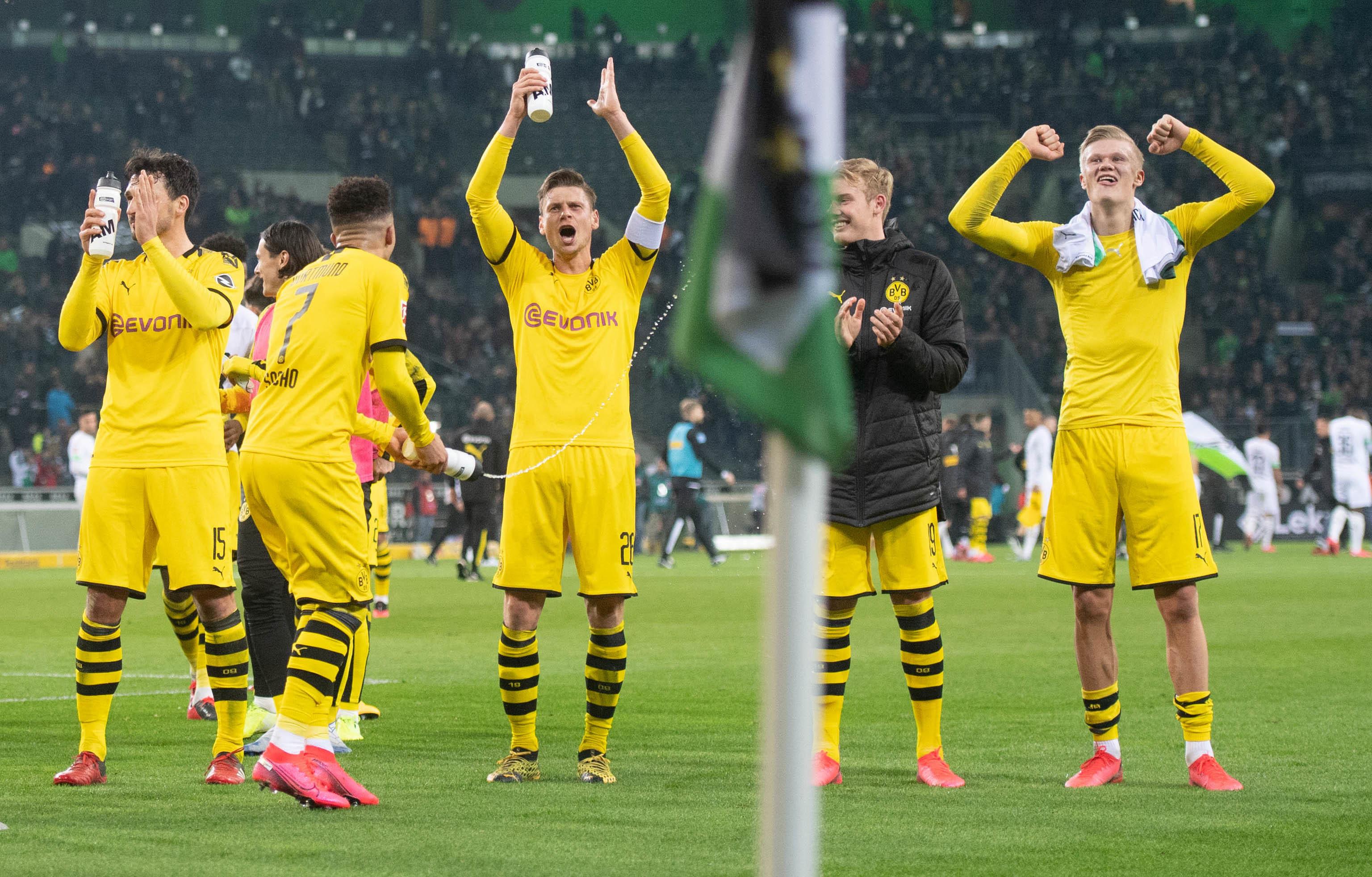 In der Bundesliga durch Corona ausgebremst: Borussia Dortmund.