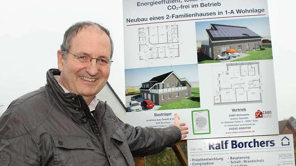 Wasserstoff: Am Steinkamp entsteht Norddeutschlands erstes energieautarkes Haus