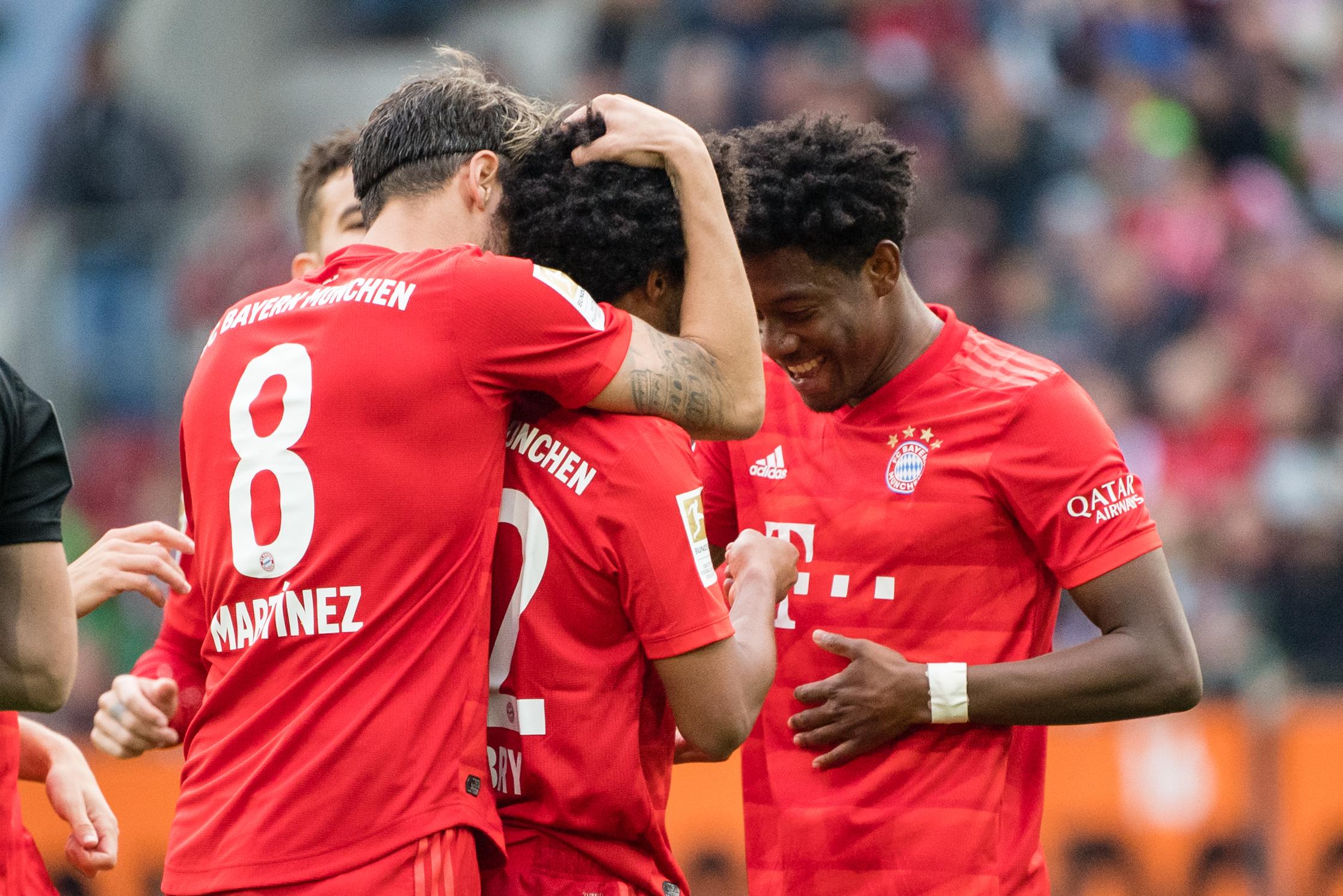 FC Bayern München: Der Rekordmeister wird Serge Gnabry wohl kaum ziehen lassen wollen.