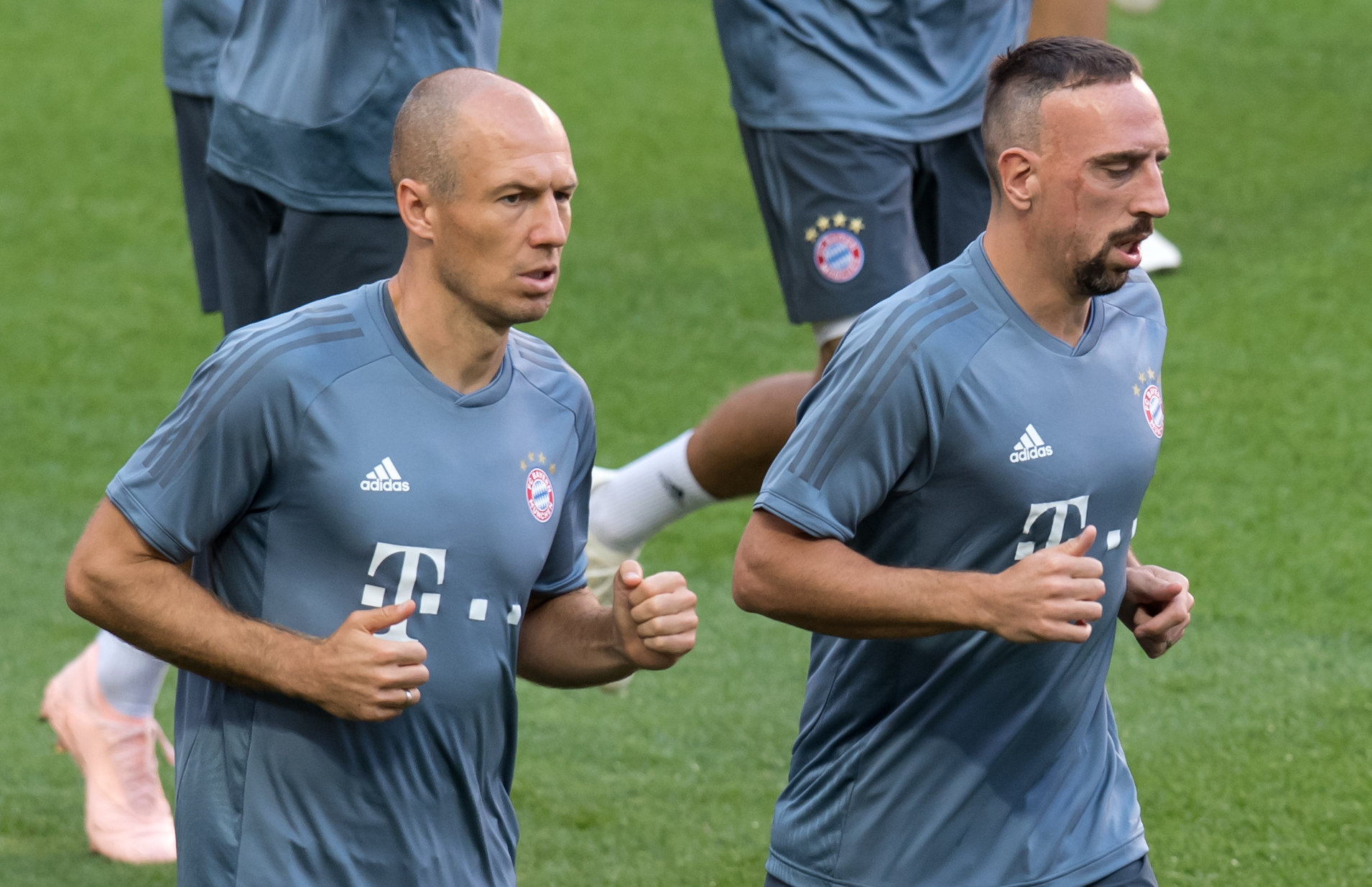 Arjen Robben (l.) und Franck Ribéry.