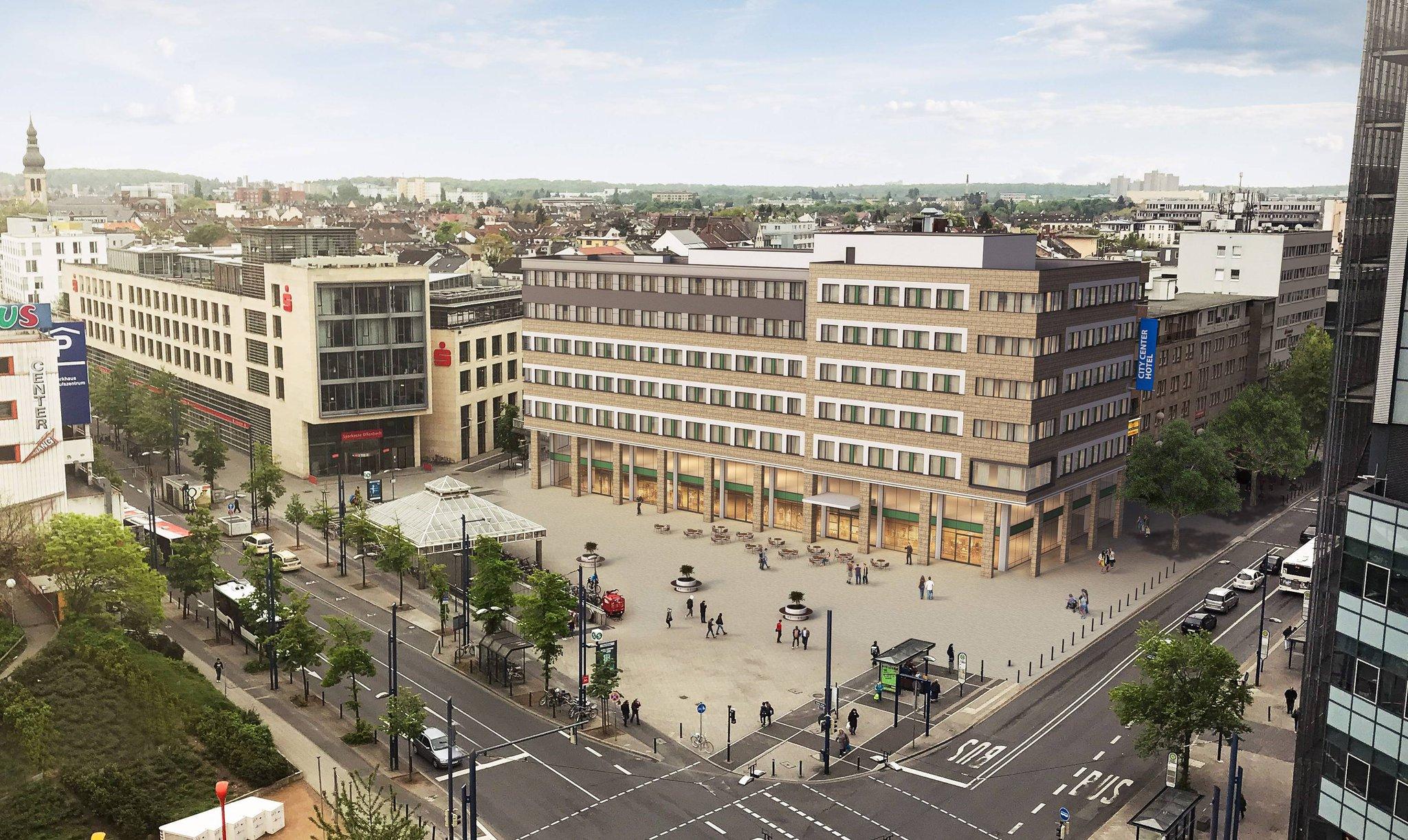 Umbau des City-Centers in Offenbach startet: Geschäfte und Hotel stehen fest
