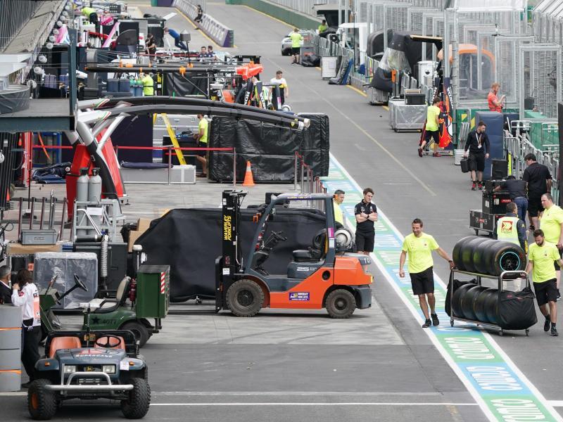 Die Formel 1 dehnt ihre Zwangspause wegen der Corona-Krise aus. Foto: Michael Dodge/AAP/dpa