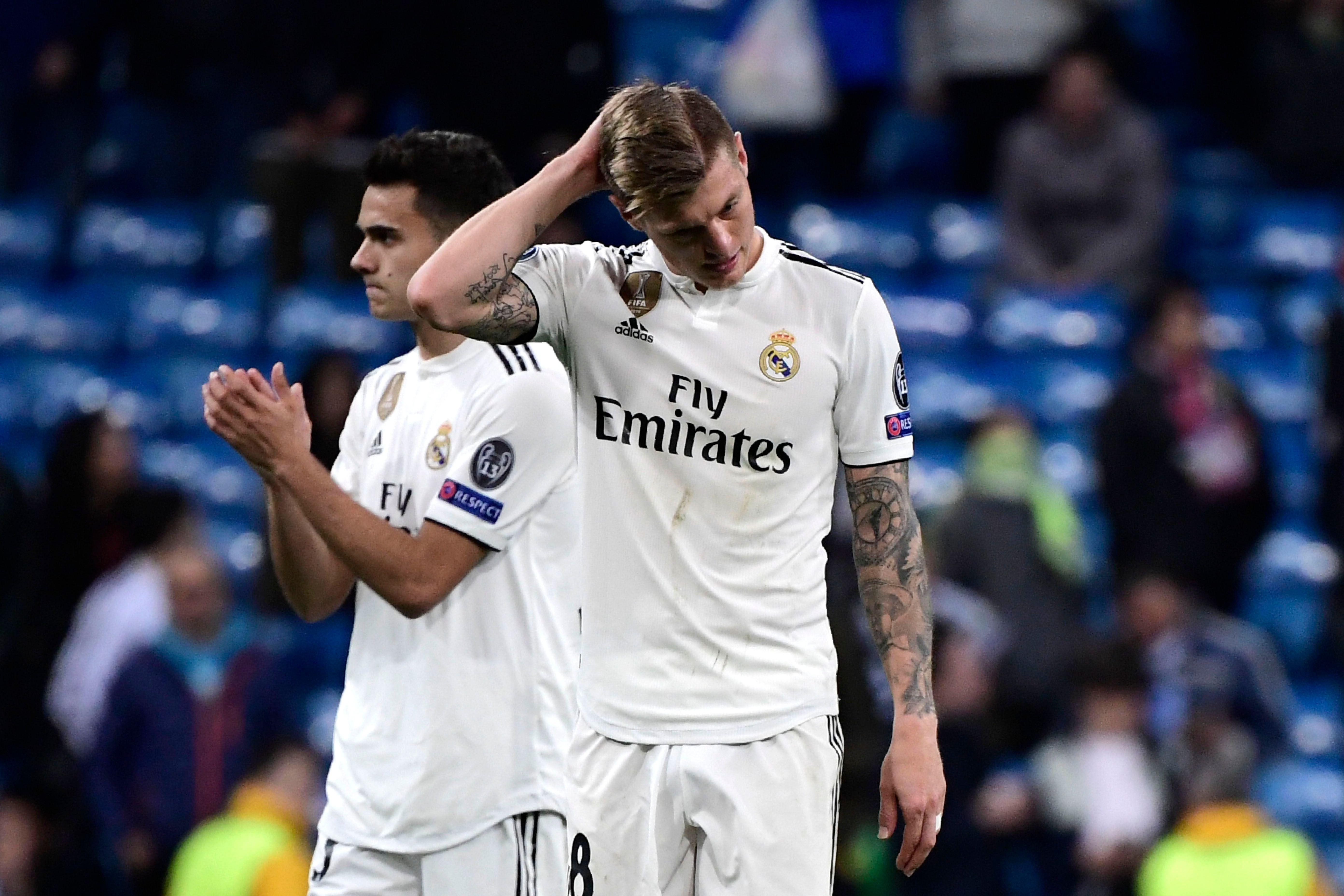 In Spanien schwer in der Kritik: der deutsche Weltmeister Toni Kroos von Real Madrid.