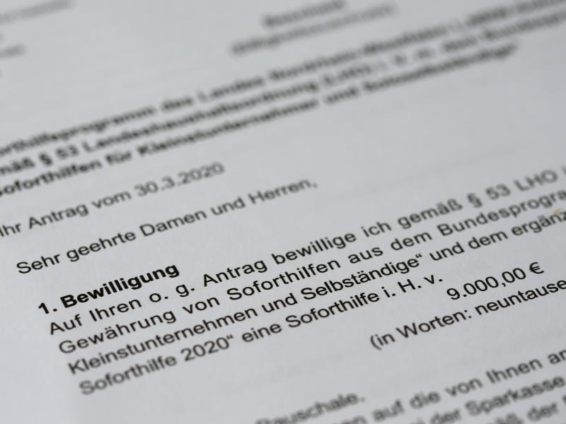 Betrugsverdacht: NRW stoppt Zahlung von Corona-Soforthilfen