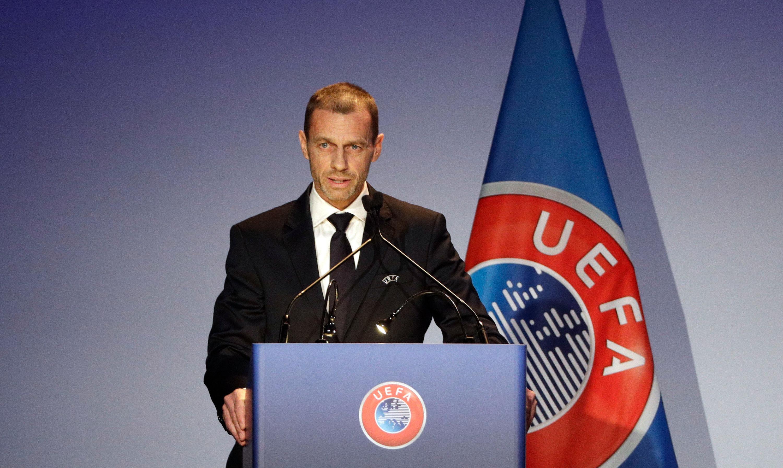UEFA-Präsident Ceferin.