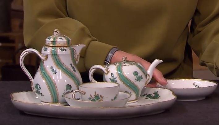 Das Porzellanerweist sich erstin der ZDF-Sendung