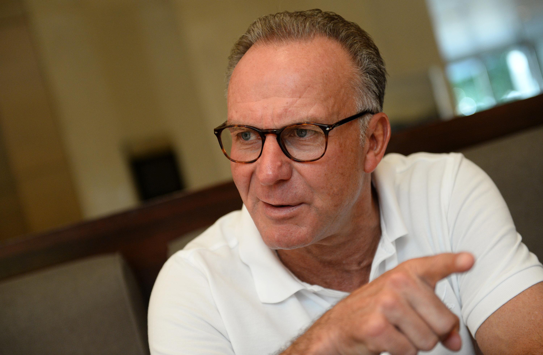 Vorstandsboss des FC Bayern: Karl-Heinz Rummenigge.