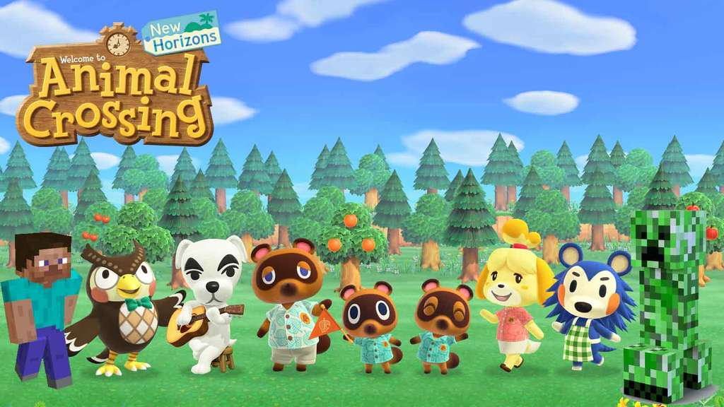 Animal Crossing New Horizons Bewohner