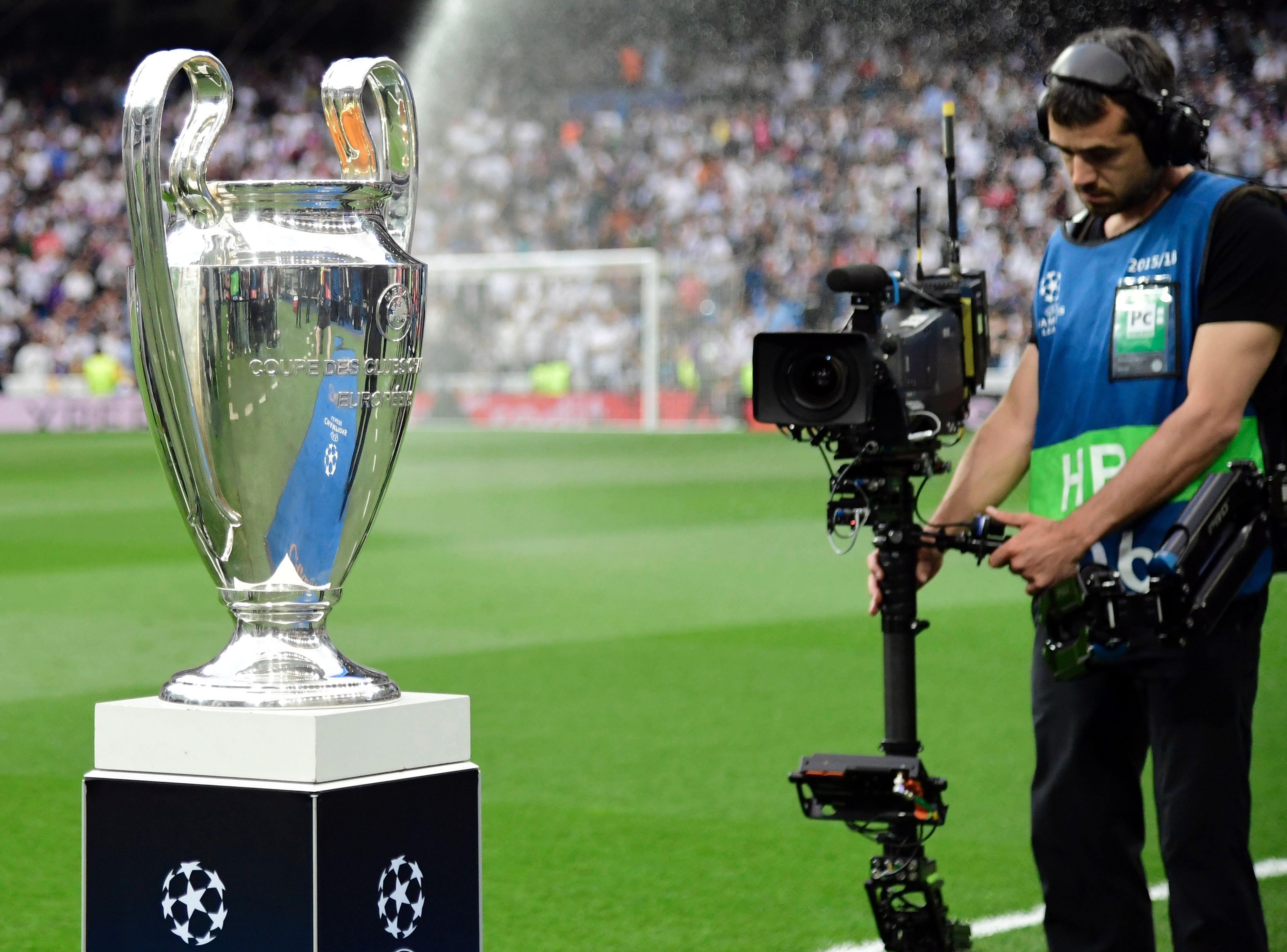 Die Champions League gibt es in Deutschland nur gegen ein Aufgeld zu sehen.