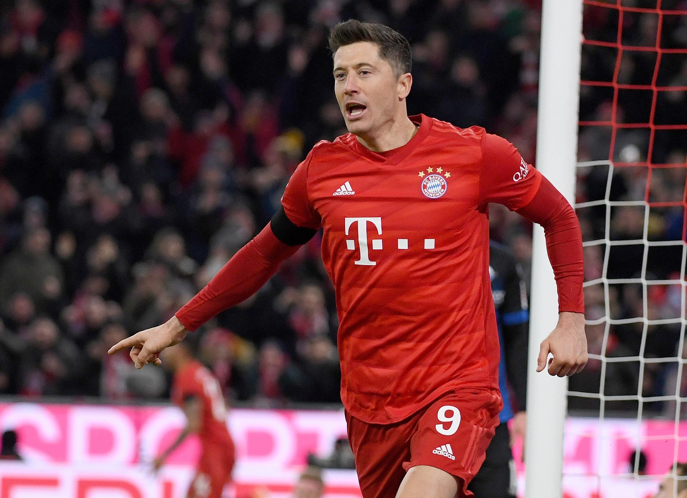 Wäre wohl beinahe doch nicht beim FC Bayern gelandet: Robert Lewandowski hätte per Klausel aus seinem Vorvertrag gekauft werden können.
