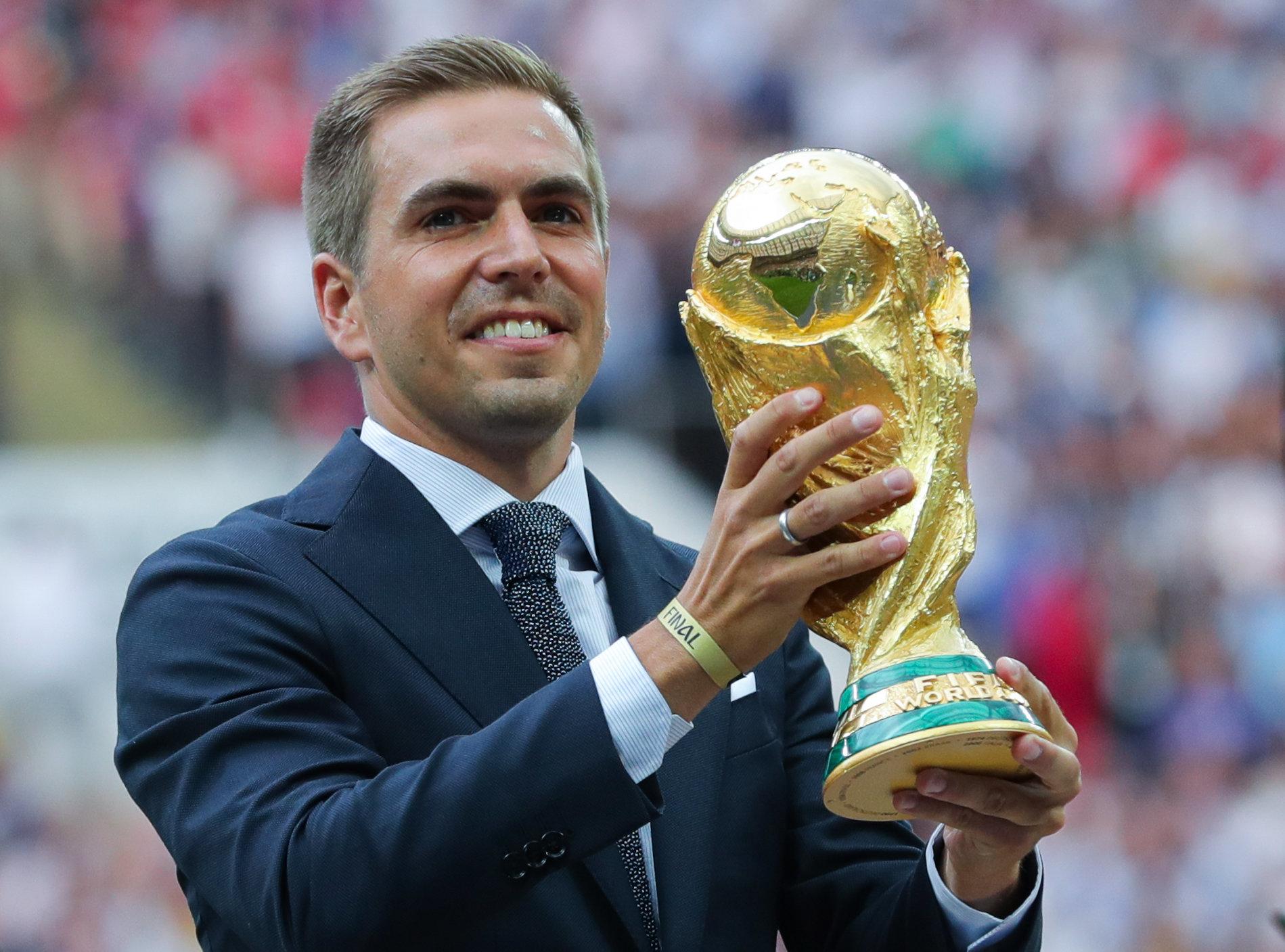 Der größte Triumph: Philipp Lahm und der DFB wurden 2014 Fußball-Weltmeister.