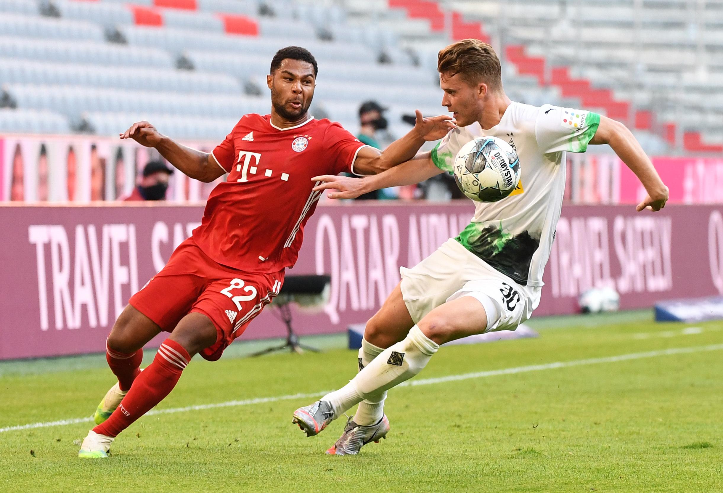 FC Bayern München - Borussia Mönchengladbach: Ausgeglichenes Topspiel in der Allianz Arena.