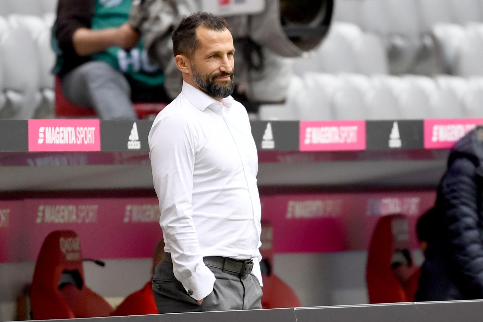 Hasan Salihamidzic sieht den FC Bayern auf einem guten Weg, noch weitere Titel in dieser Saison zu holen.