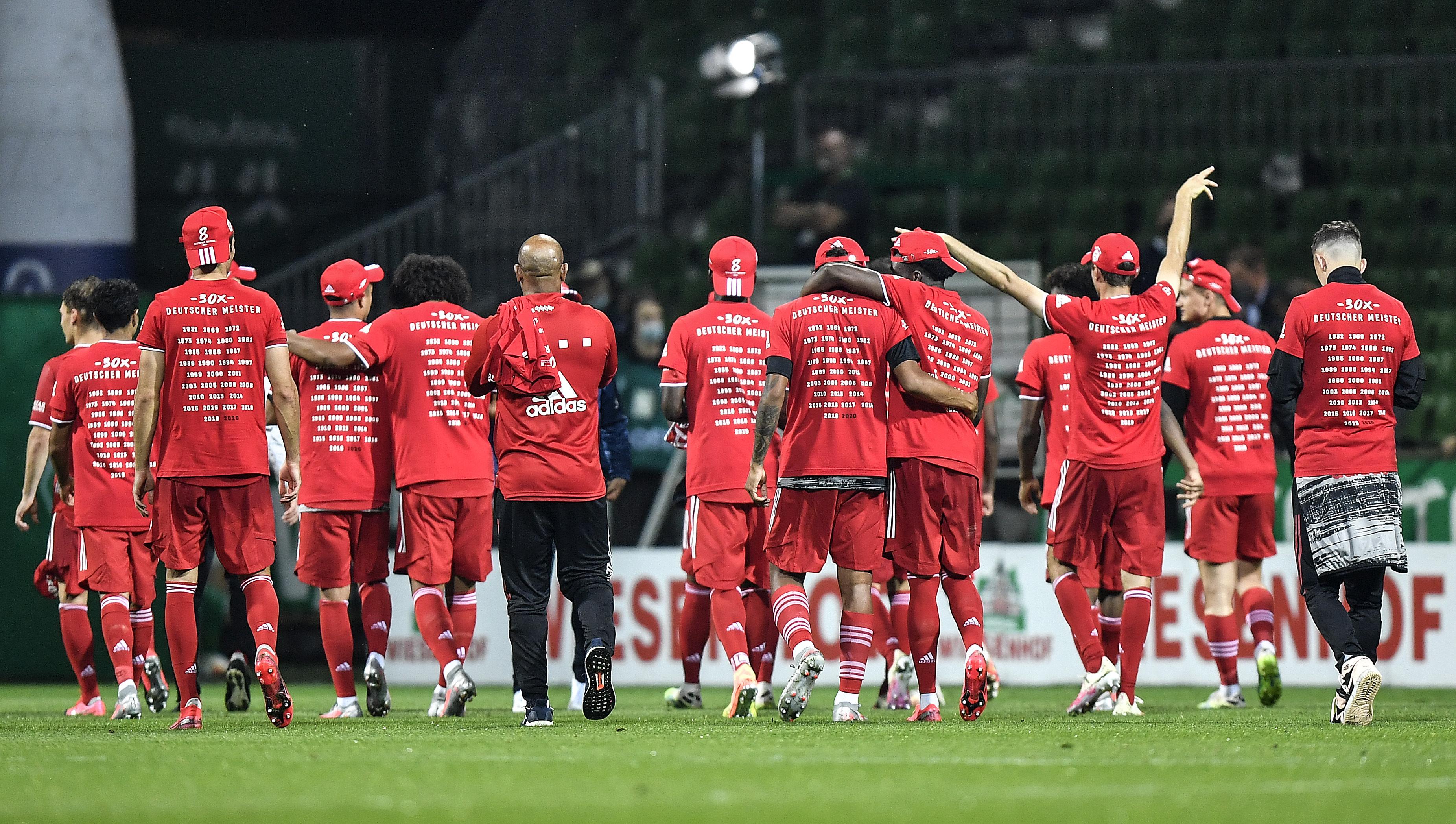 Spieler des FC Bayern mussten sich Vorwürfe aufgrund der Kontaktbeschränkungen gefallen lassen.