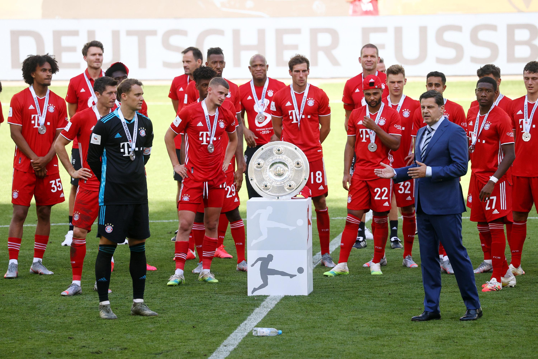 Der FC Bayern ist zum achten Mal in Folge Deutscher Meister.