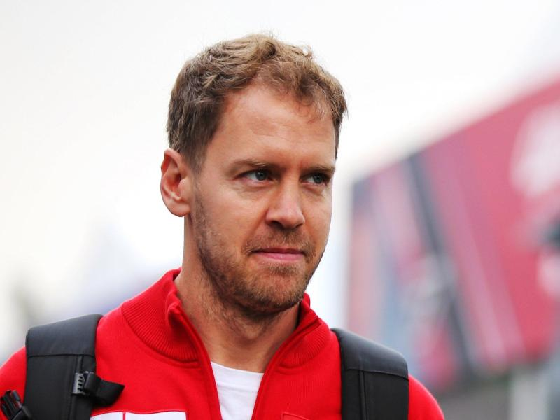 Sebastian Vettel hat in seiner letzten Ferrari-Saison nicht mehr viel zu verlieren. Foto: Photo4/Lapresse/Lapresse via ZUMA Press/dpa