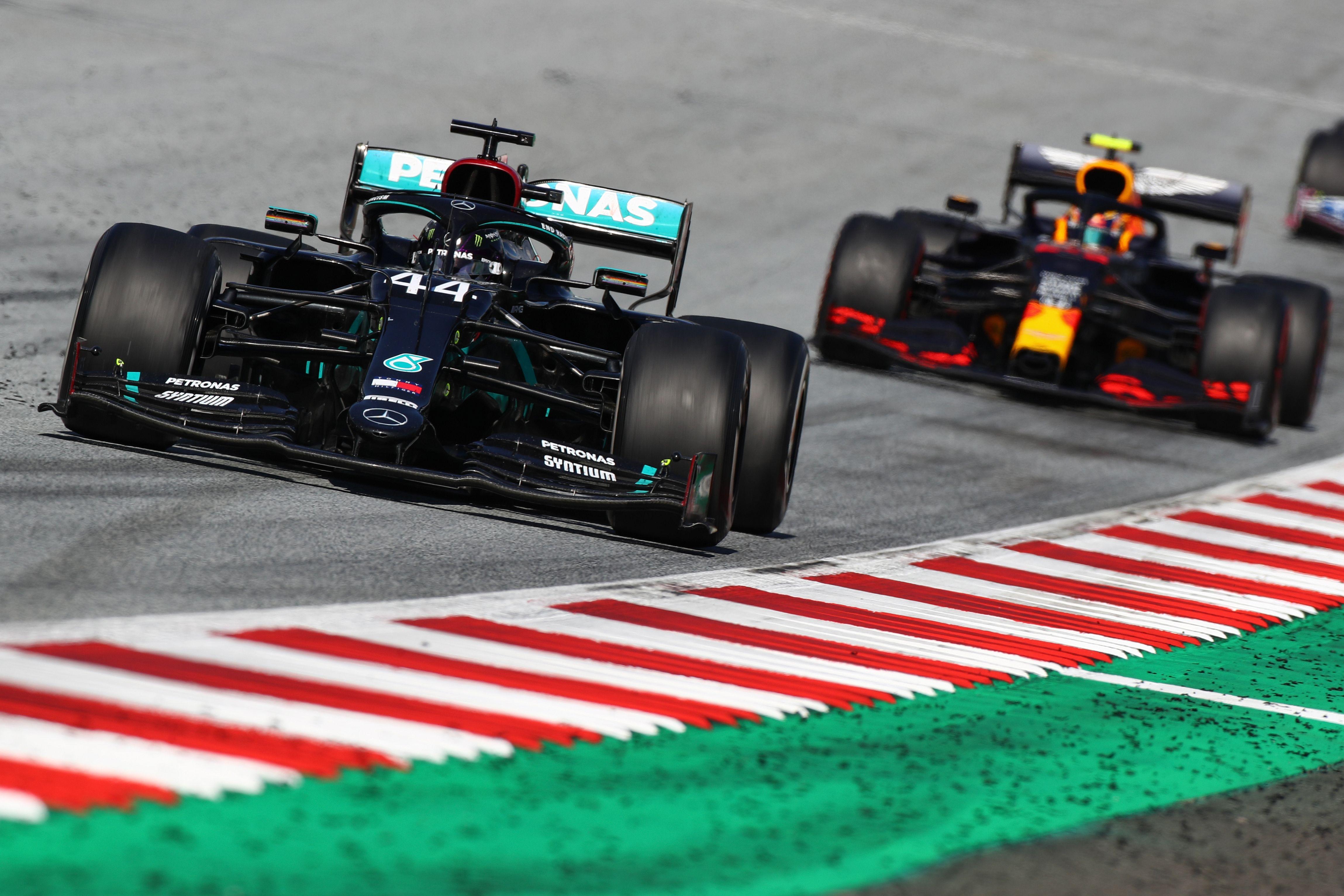 Lewis Hamilton war in ein heikles Manöver verwickelt.