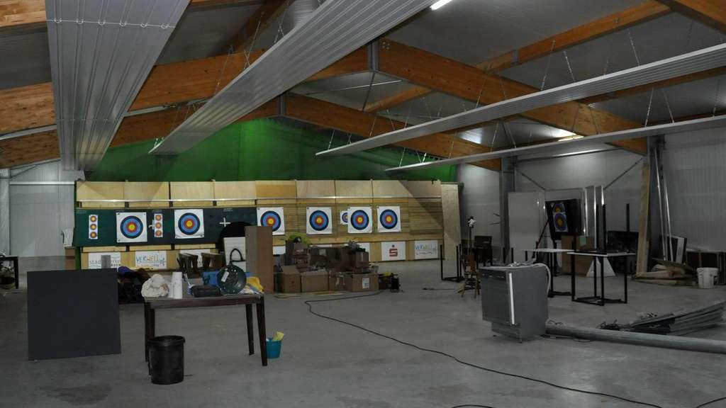 Viel Eigenleistung haben die Dauelser Schützen in den Neubau gesteckt. Nun ist die Halle (fast) fertig.