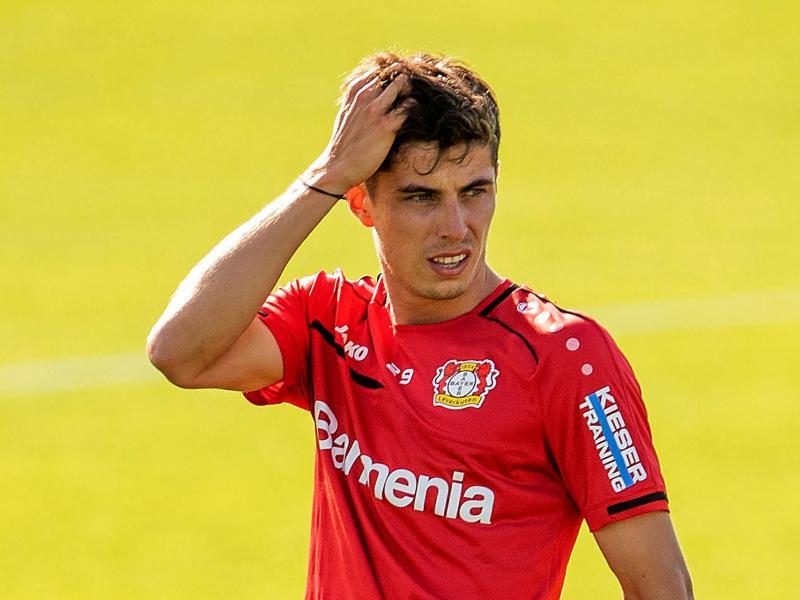 Beim FCChelsea könnte Kai Havertz in der Champions League spielen - mit Leverkusen nur Europa League. Foto: Marius Becker/dpa