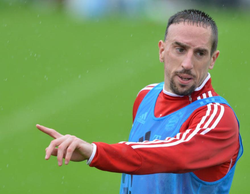 Franck Ribery war beim FC Bayern stets fordernd.
